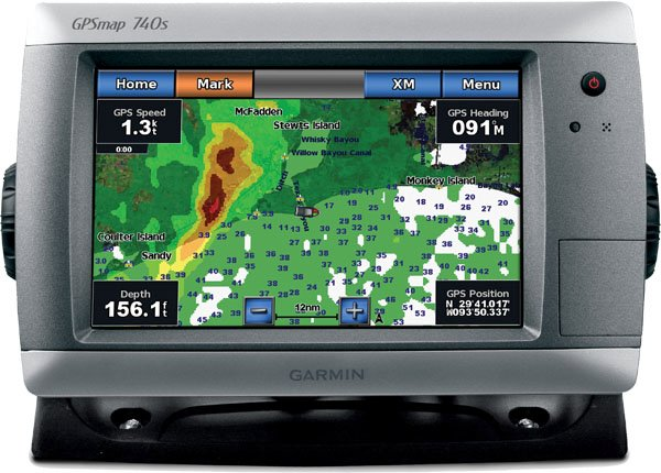 Photo of Garmin GPSMAP 740 with GDL40
