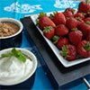 Thumbnail photo of strawberries and dip