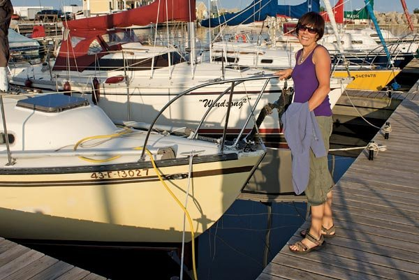 Photo of Rachael Schilling-Payne, co-organizer of the Virtual Yacht Club
