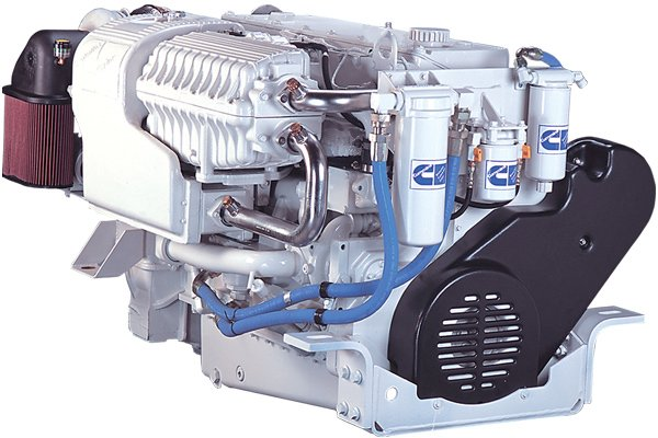 Photo of a new diesel engine