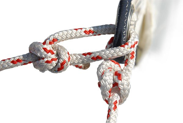 Photo of a bowline knot