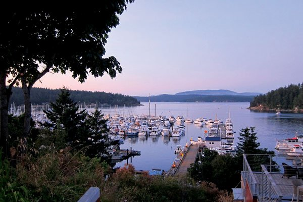 Photo of San Juan island's marina