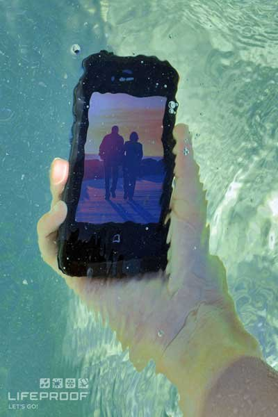 Lifeproof waterproof iPhone case