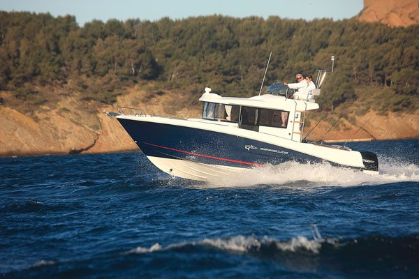 Photo of a Beneteau Barracuda 9 powerboat