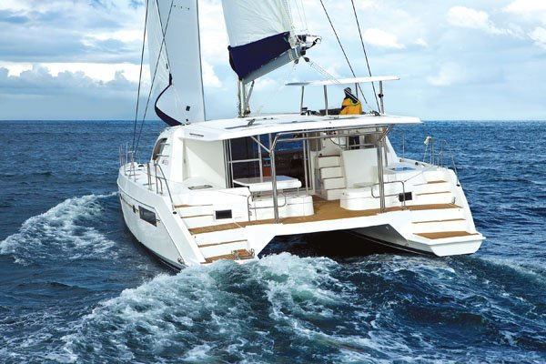 Photo of a Leopard 48 catamaran