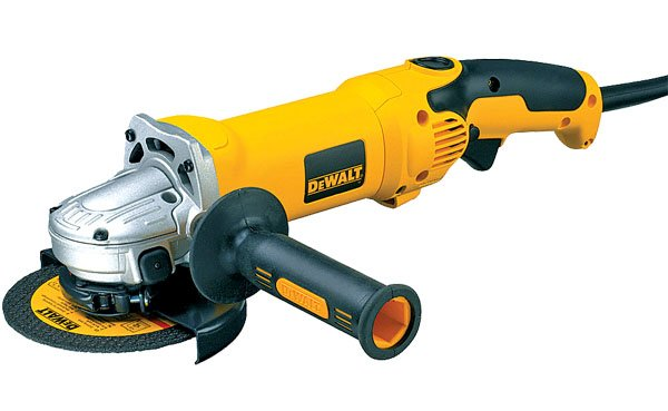 Photo of a DeWALT 4.5-Inch Angle Grinder