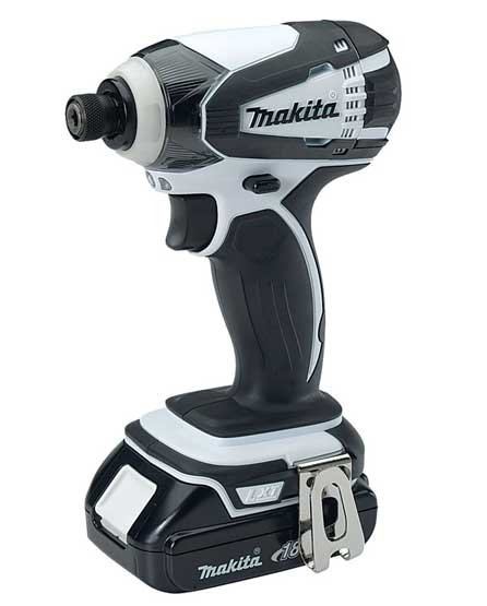 Photo of a Makita 18V Cordless Impact Driver