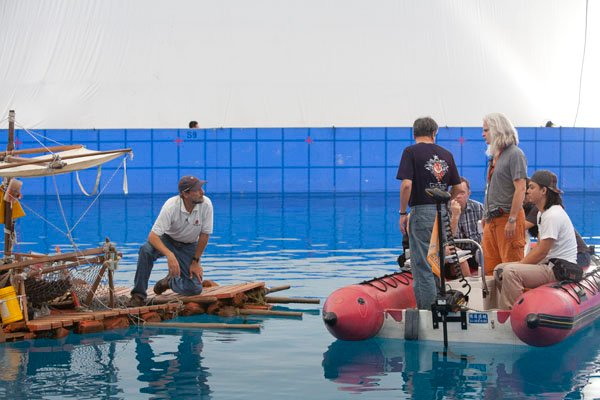behind the scenes the original pi magazine slip behind the scenes of life of pi steve callahan who made authentic lures tools and a liferaft for the movie photos of callahan by peter