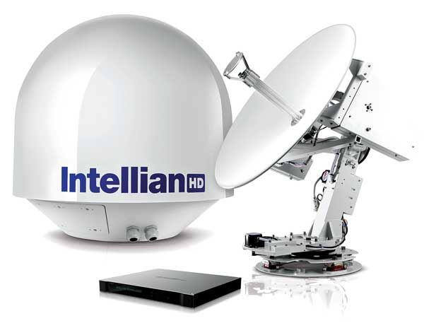 Intellian s80HD WorldView Dual-Band Antenna