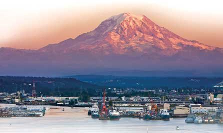 Photo of Tacoma, Washington waterfront