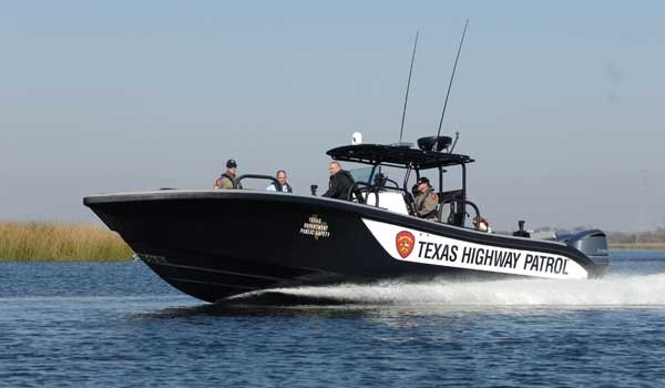 Texas Department of Public Safety Patrol Boat