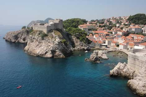 Photo of Dubrovnik, Croatia Fort Lovrijenac