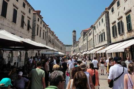 Photo of Dubrovnik, Croatia Placa Stradun