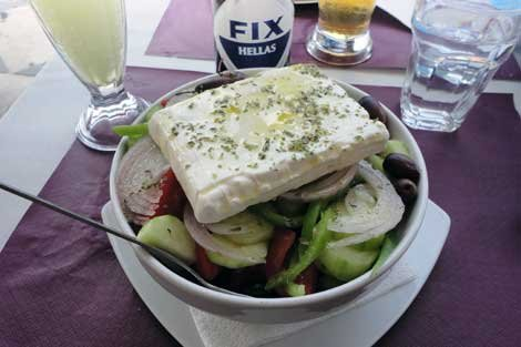 Photo of Yithon, Greece, greek salad cuisine