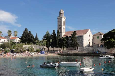 Photo of Hvar, Croatia beach in town