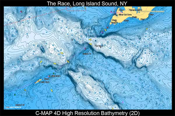 Jeppesen C-Map High Resolution Bathymetric Imagery