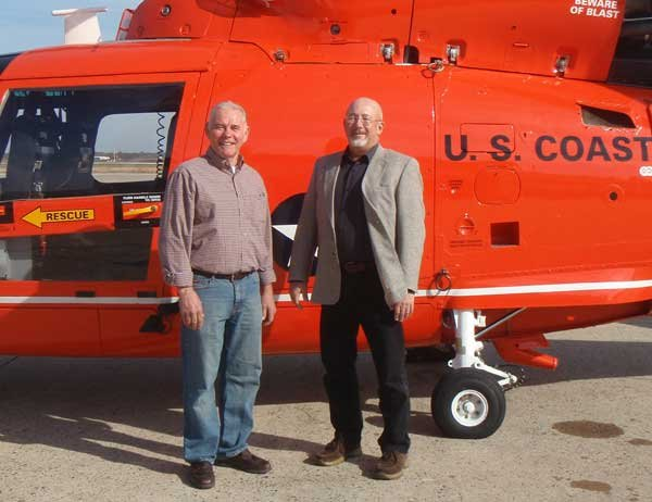 Survivors Daniel David Jones (left) and Art Higbee (right)