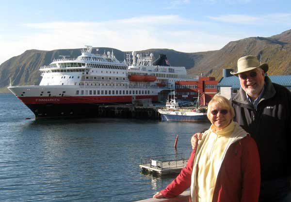 Photo of Richard and Diane Joust cruised to Norway on the Finnmarken