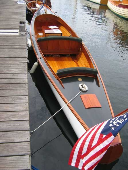 Photo of wooden boat