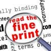 Thumbnail photo of read the fine print