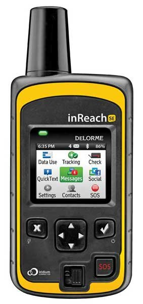 Photo of the DeLorme InReach