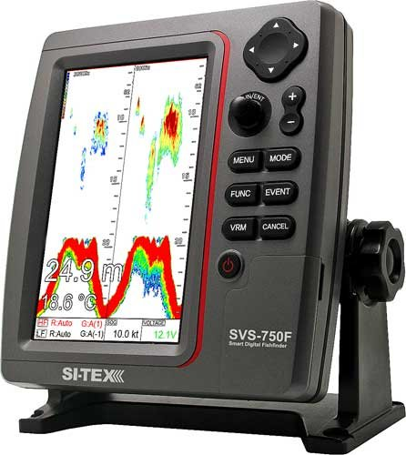 Photo of the SI-TEX SVS-750F Digital Echosounder