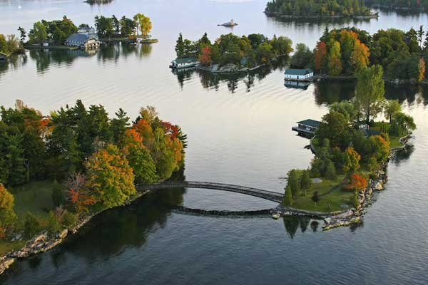 Photo of the Thousand Islands