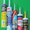 Thumbnail photo of various brands of sealant