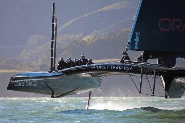 Photo of Oracle Team USA America's Cup entry