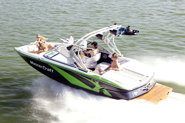 Photo of a MasterCraft X2