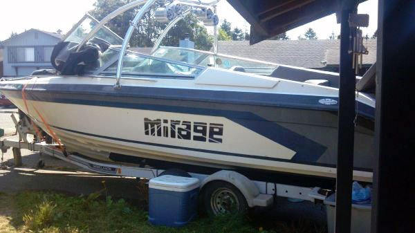 Photo of Craigslist 26-foot 1992 Mirage ski boat