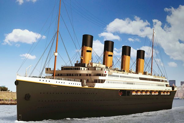Photo of the Titanic II