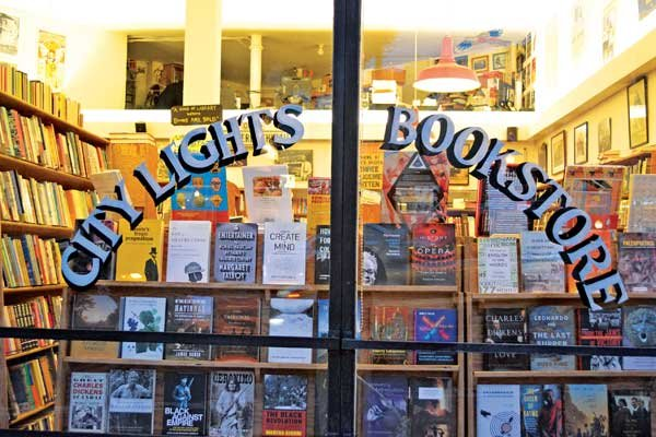 Photo of City Lights Bookstore in San Francisco
