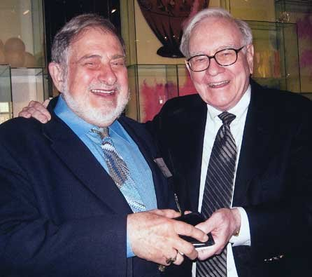 Photo of Richard with Warren Buffet