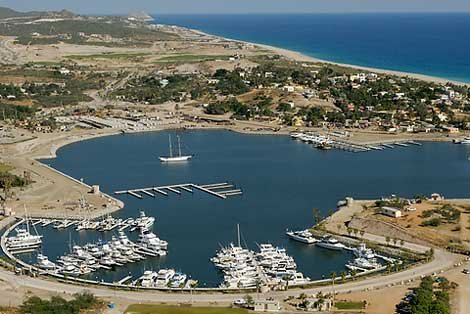 Photo of a marina in Los Cabos