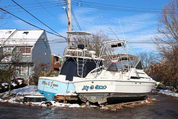 Photo of Superstorm Sandy damage