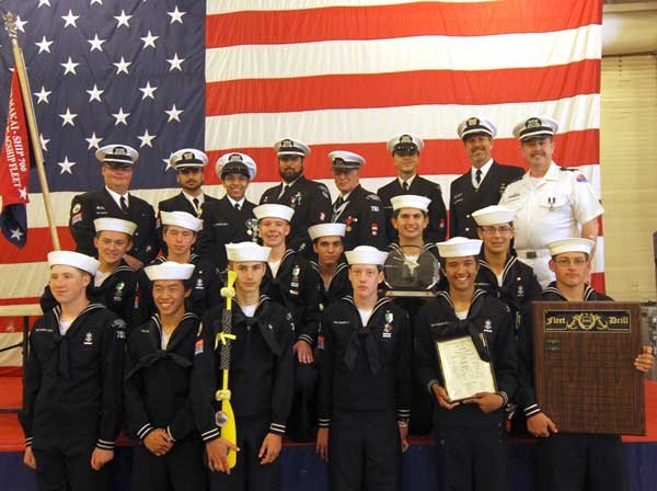 Photo of the Sea Scouts of Ship 700