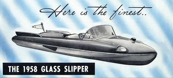 1958 Glass Slipper advertisement