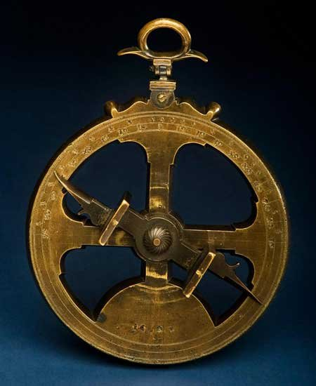 Photo of an astrolabe