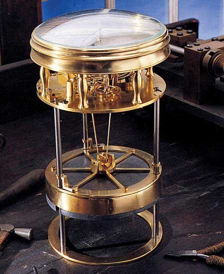 Photo of a chronometer