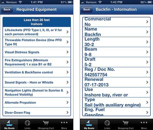 Photo of the Boat Essentials–USCG Safety Gear app
