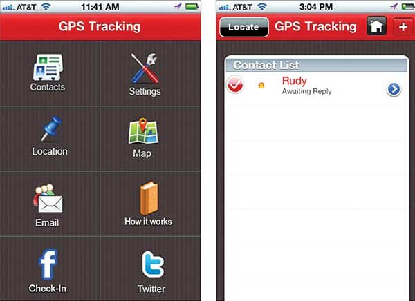 Photo of GPS Tracking app