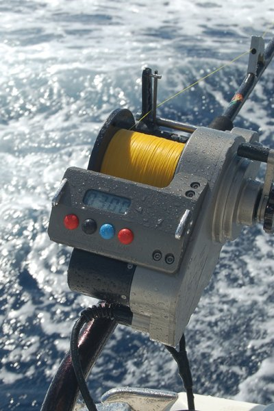 Photo of a Lindgren-Pitman reel for fishing