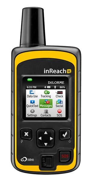 Photo of the DeLorme inReach SE