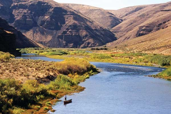 Photo of fishing on the John Day River