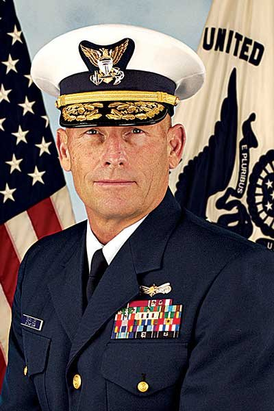 Photo of USCG Rear Admiral Dean Lee