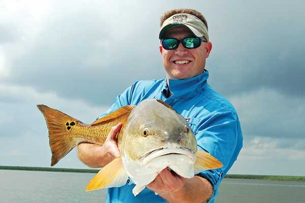 Photo of a big redfish catch
