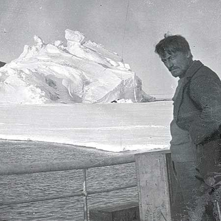 Photo from Ernest Shackleton's Antararctic expedition