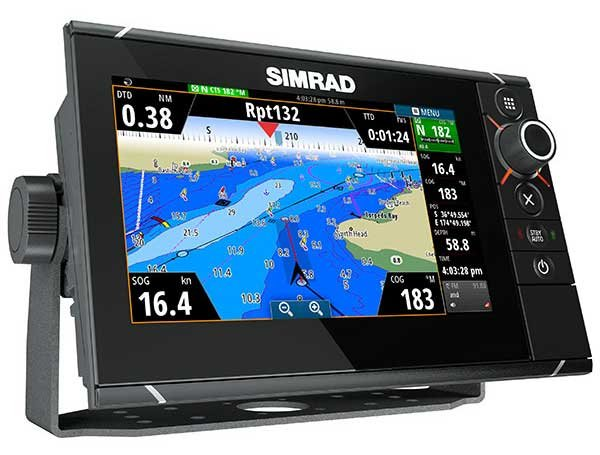 Photo of the Simrad NSS EVO2