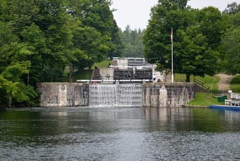 Photo of Jones Falls Lock